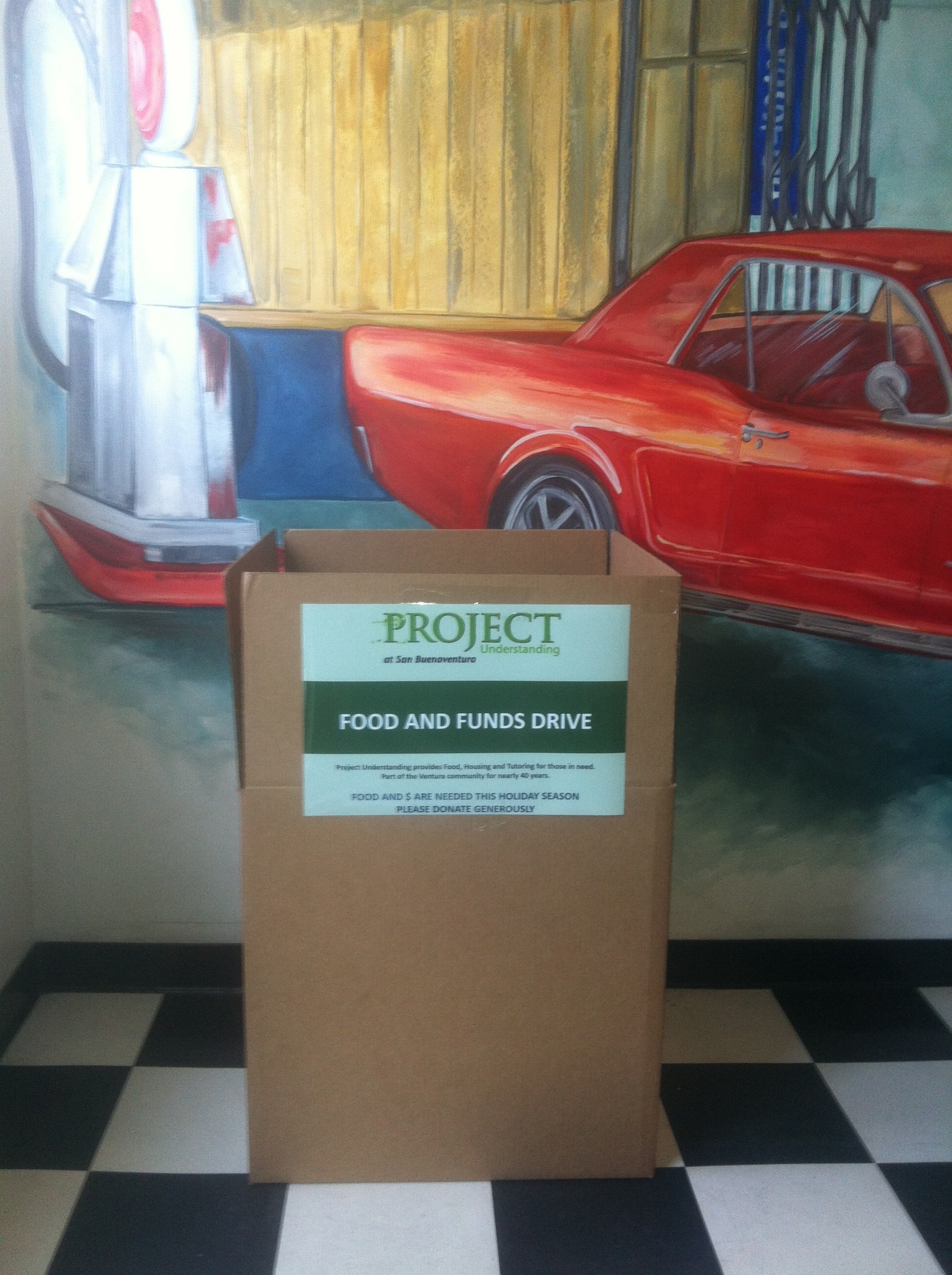 AWS Automotive Ventura Auto Repair Food and Funds Drive Initiative