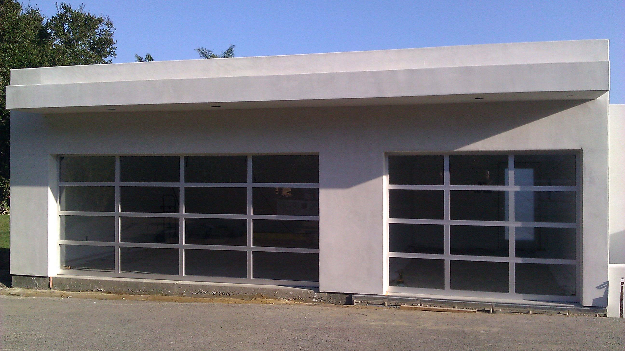 Located In Fillmore Calif Is A Residential Garage Door